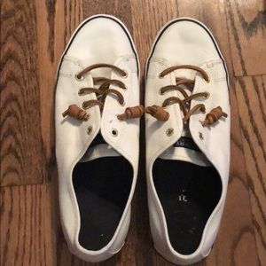 Sperry size 9 Women's Top Sider w Leather Laces!